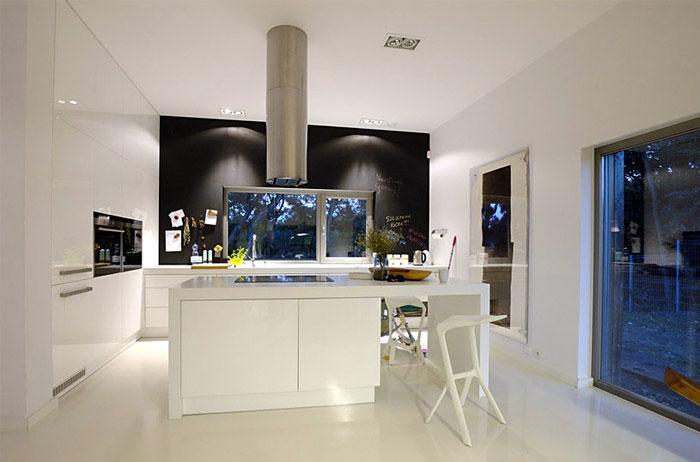 withe kitchen design