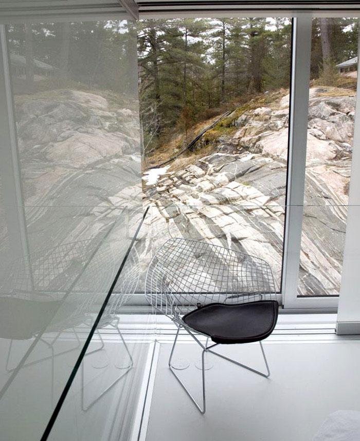 interior glass house