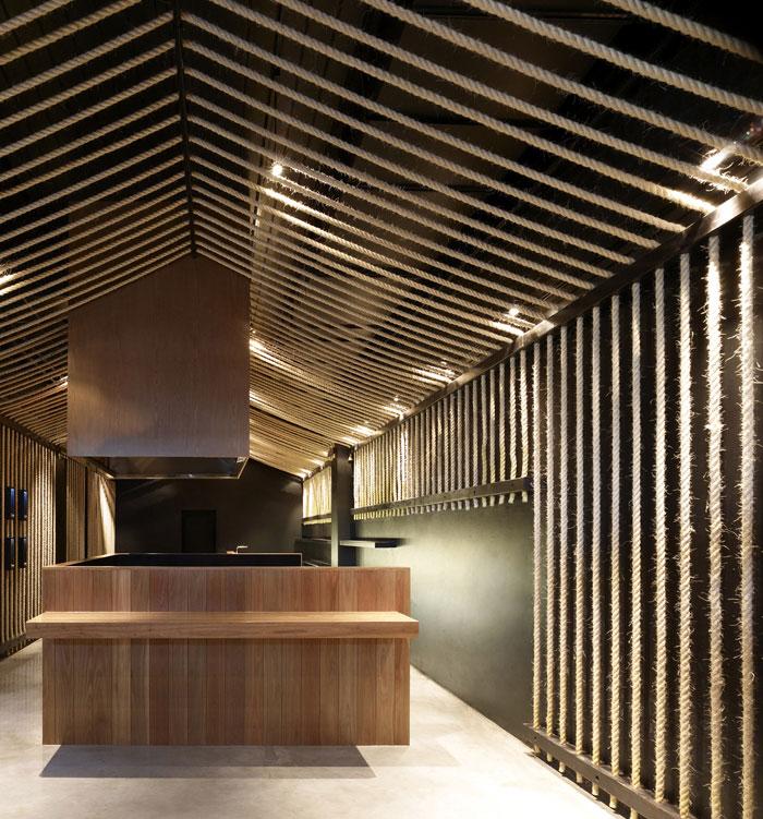 sake house interior