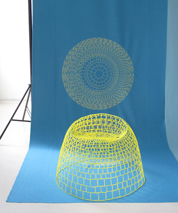 network armchair