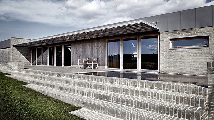 amazing danish villa exterior