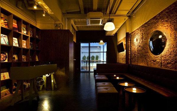 cocktail bar interior
