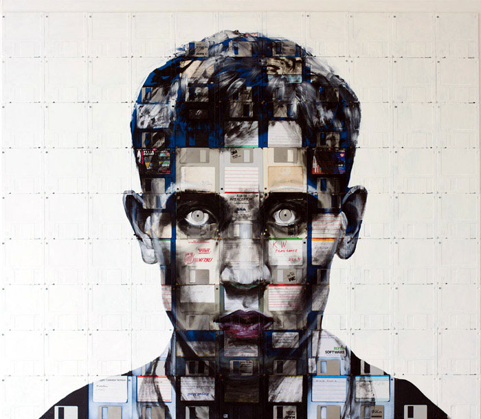 floppy disk art nick gentry a