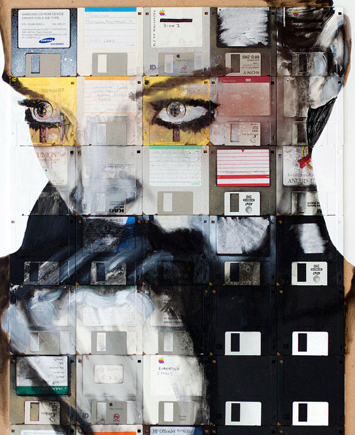 floppy disk art nick gentry c