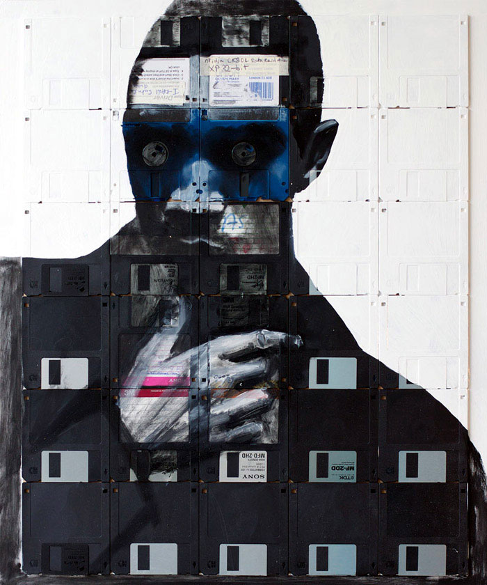 floppy disk art nick gentry