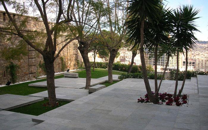 fondarius architecture montjuic garden barcelona 2