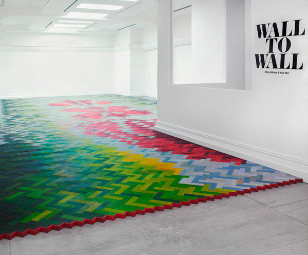 parquet brick flooring