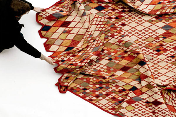 rug collection by studio Bouroullec