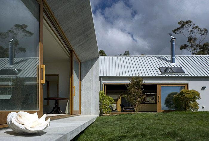 stylish house exterior