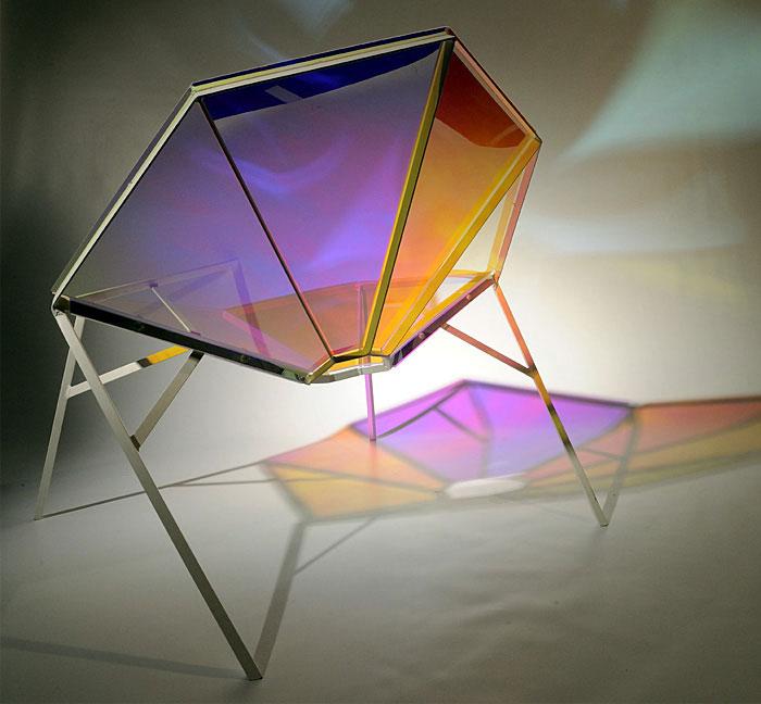 diamond inspired chair