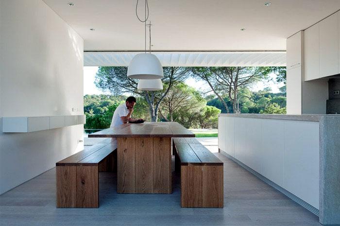 geometric house livingroom