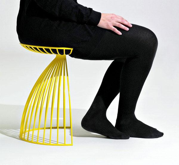 modern steel chair1