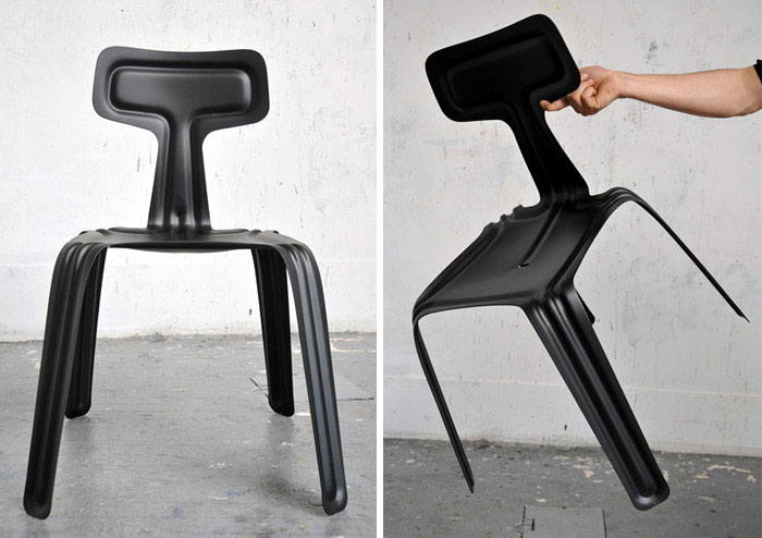 pressed chair harry thaler