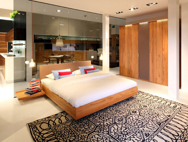 solid wood design bedroom