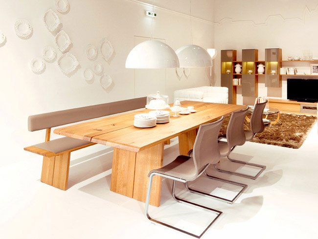 solid wood design diningroom