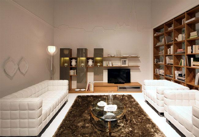 solid wood design livingroom a