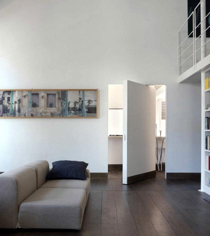 stylish apartment living room