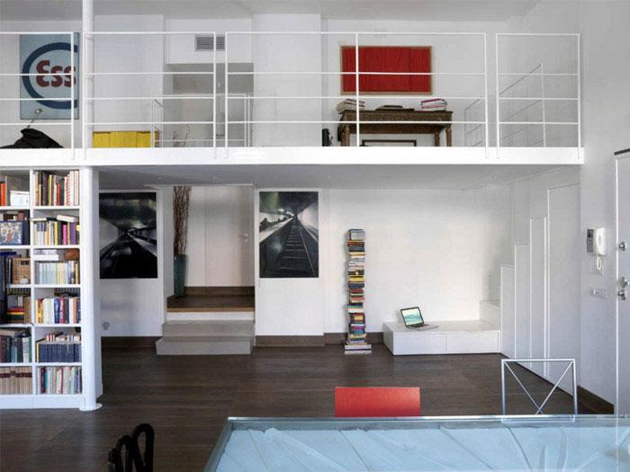 stylish loft interior