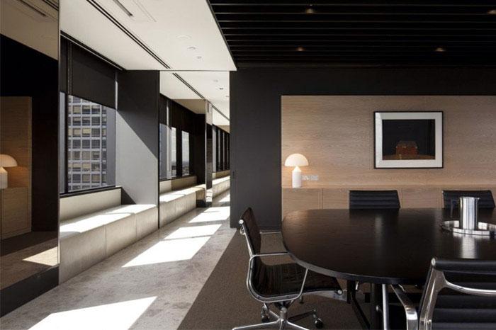 stylish melbourne office