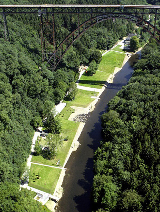 bridge park landscape