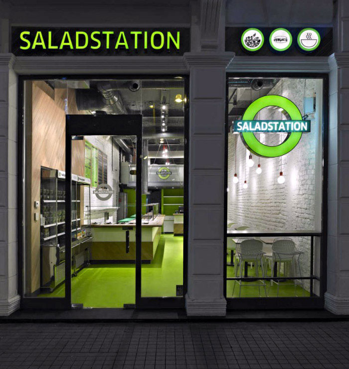 corporate identity saladstation