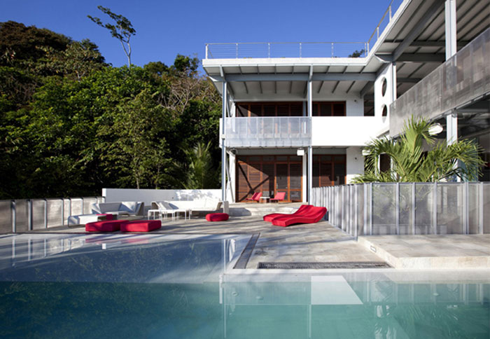 flexible building pool area