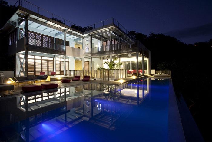 indoor outdoor residence