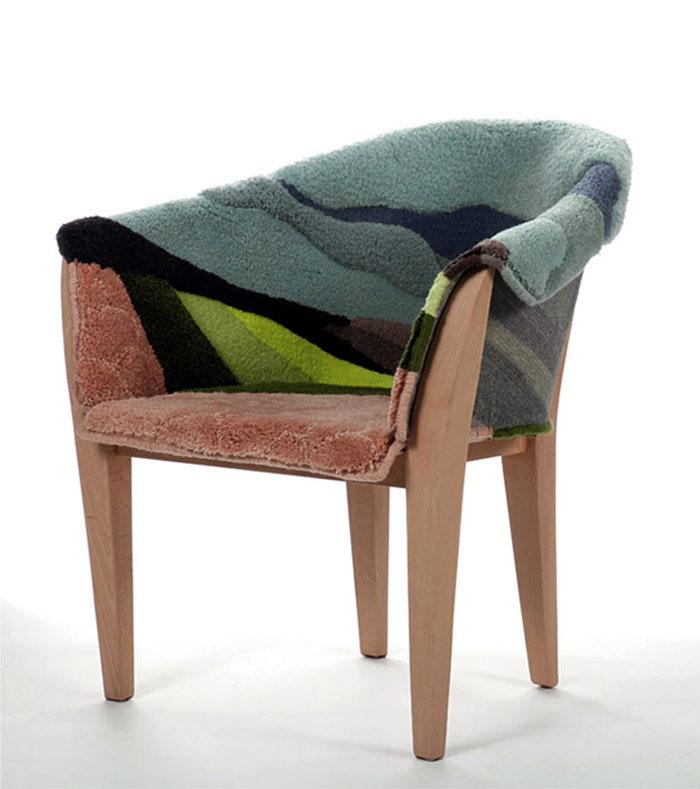 landscape armchair