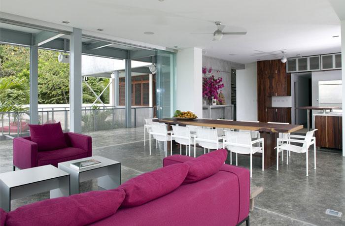 modern residence interior