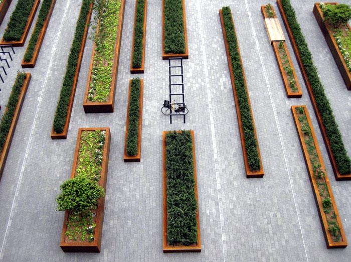 square greenery