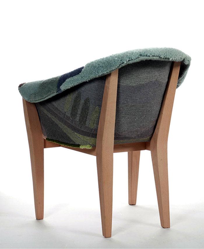 topography landscape armchair