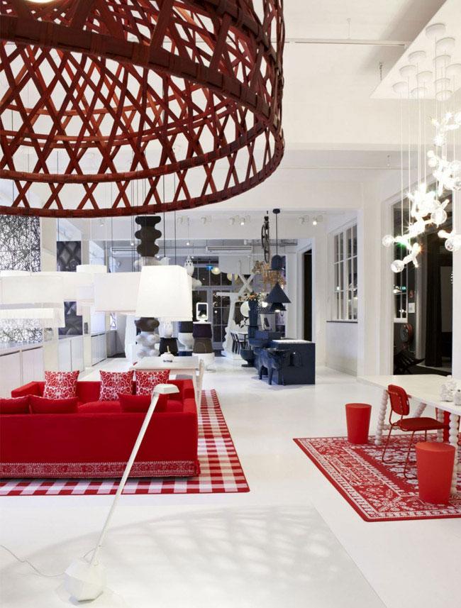 colorful presentation moooi furniture