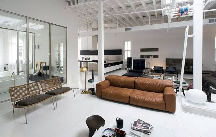 contemporary lifestyle interior livingroom