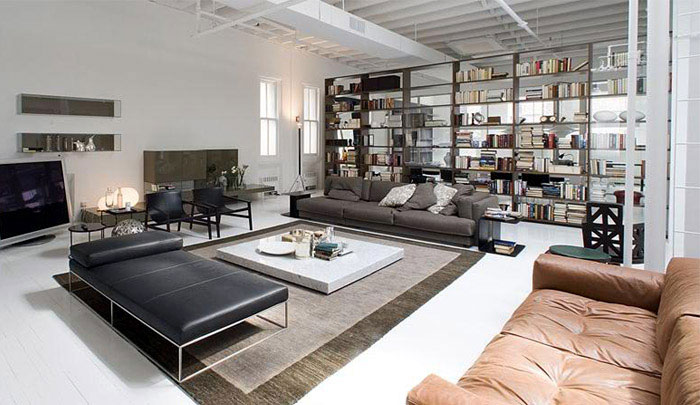 contemporary lifestyle loft