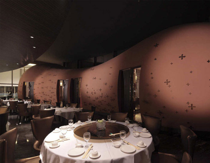 fairy tale restaurant dining area