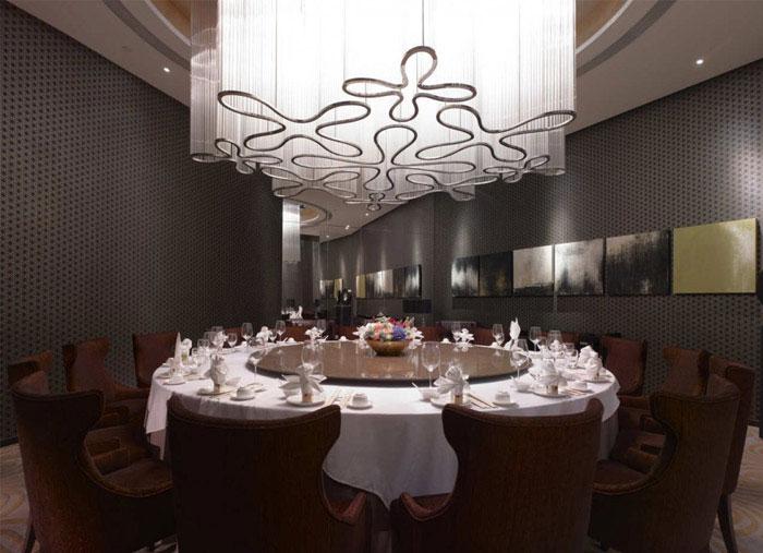 fairy tale restaurant interior lighting