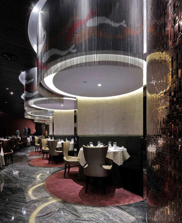 fairy tale restaurant interior lighting1