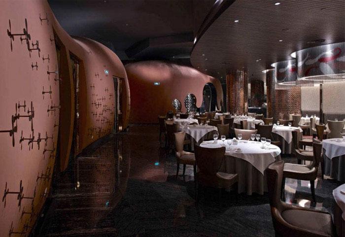 fairy tale restaurant interior