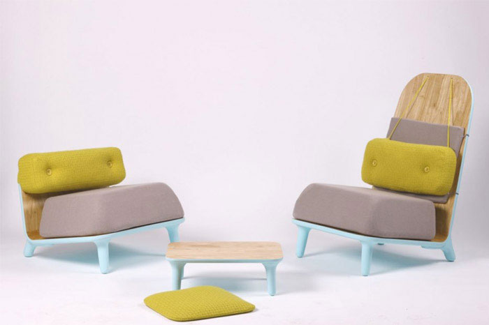 furniture design low chairs family