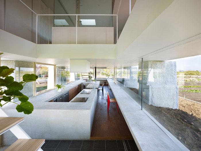 house in hidaka amazing interior design