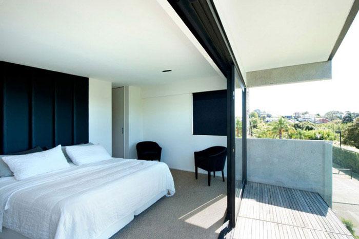 modern family home bedroom