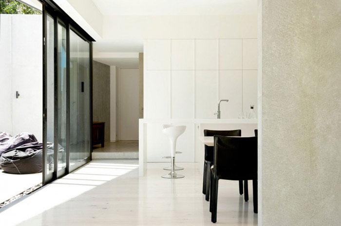 modern family home kitchen interior