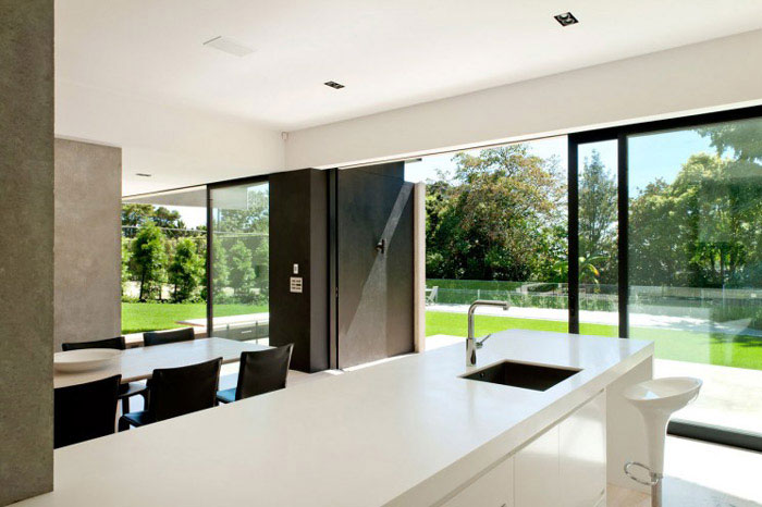 modern family home kitchen