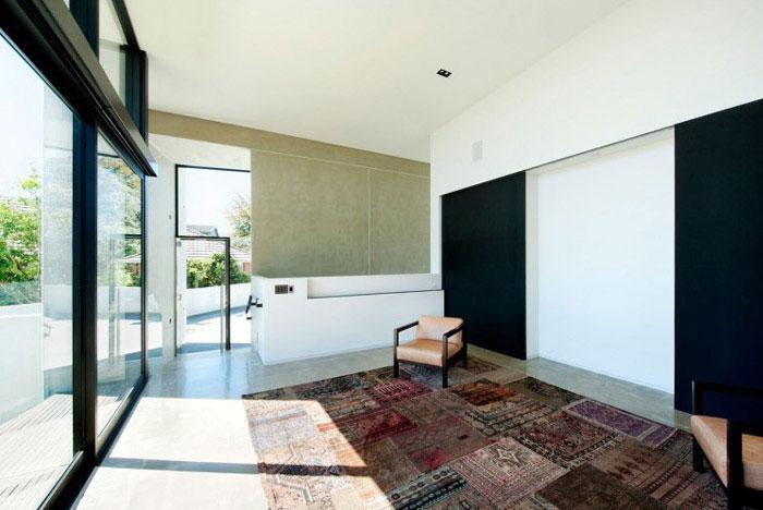 modern family home livingroom