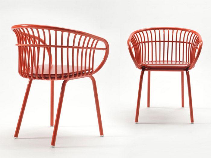 product design aluminum chair