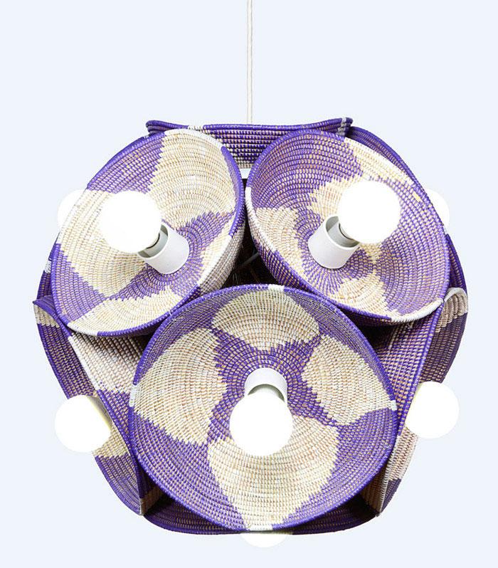 senegalese sweetgrass polyethylene baskets