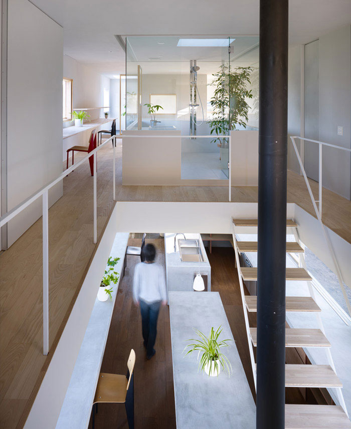 suppose design office house in hidaka