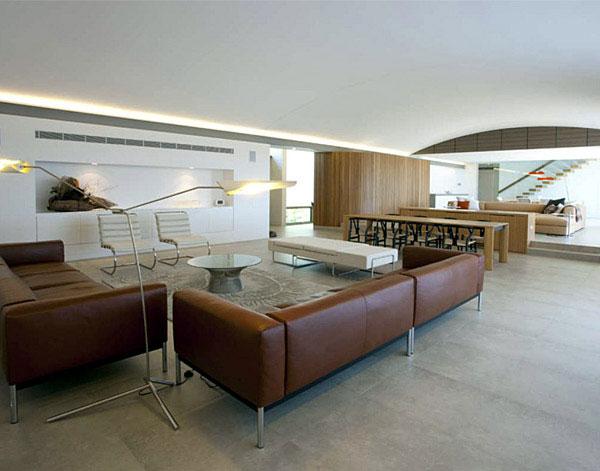 sustainable home livingroom