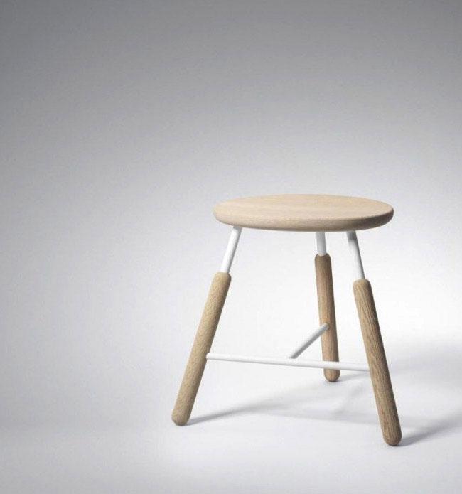 contemporary scandinavian approach chair