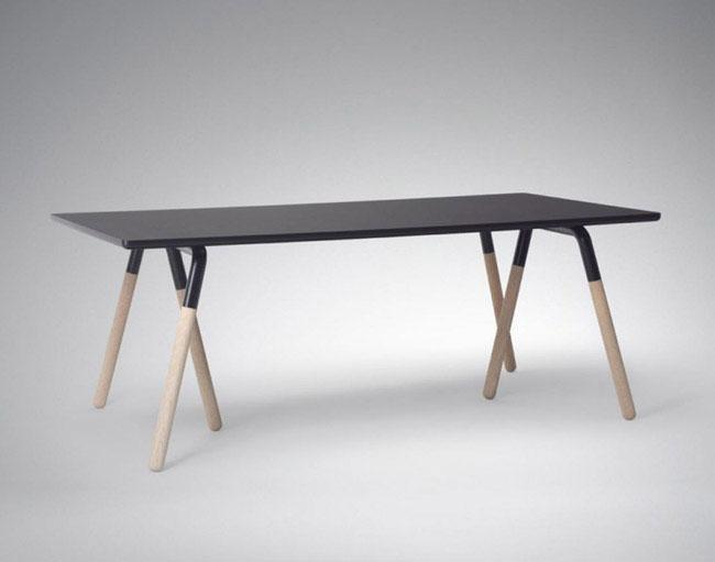 contemporary scandinavian table